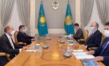 Токаев принял акционеров ERG