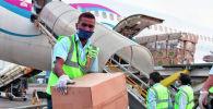 В Индию доставлена гуманитарная помощь Казахстана для борьбы со вспышкой COVID-19