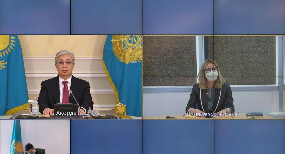 Токаев встретился с вице-президентом Всемирного банка