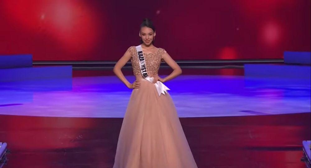 Камилла Серикбай представила Казахстан в полуфинале Мисс Вселенная