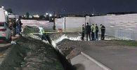 Тело мужчины нашли возле ТЦ Апорт в Алматы