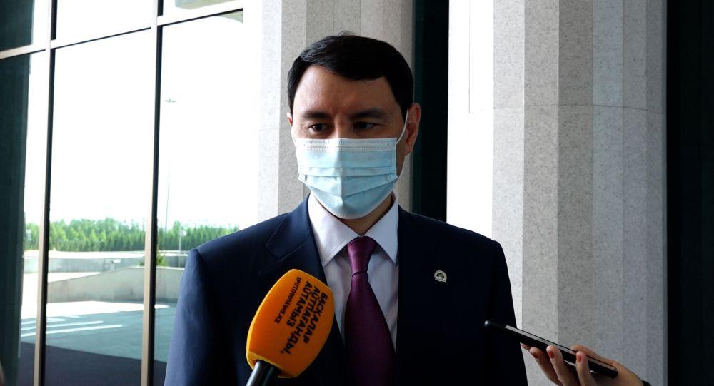 Министр финансов Ерулан Жамаубаев