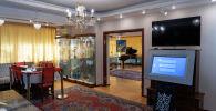 Музейде 5 экспозициялық бөлме бар: кіреберіс, қонақ бөлмесі, жұмыс бөлмесі, ас үй және демалыс бөлмесі.