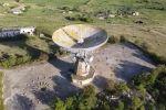 Заброшенный лунодром показали с высоты птичьего полета