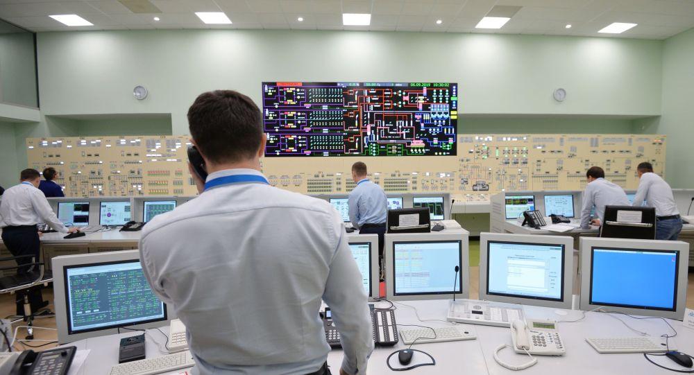 Диспетчерский пульт на АЭС, иллюстративное фото