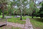 Парк в алматинском микрорайоне Кок-тобе, на месте которого планировали построить МЖК