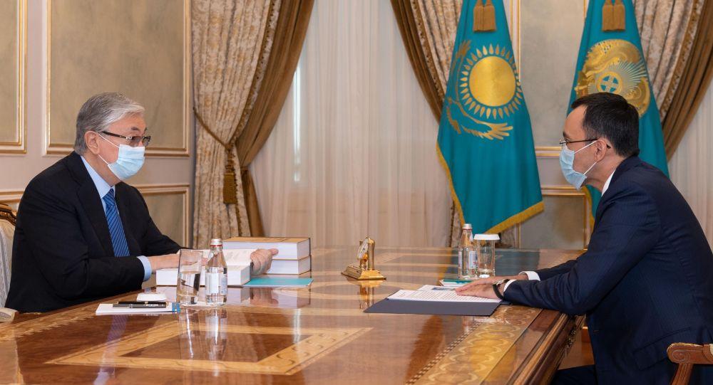Қасым-Жомарт Тоқаев пен Мәулен Әшімбаев