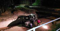 Porsche Cayenne упал в реку