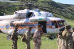 Два вертолета и три беспилотника осмотрели свыше 2000 километров территории