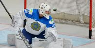Вратарь сборной Казахстана