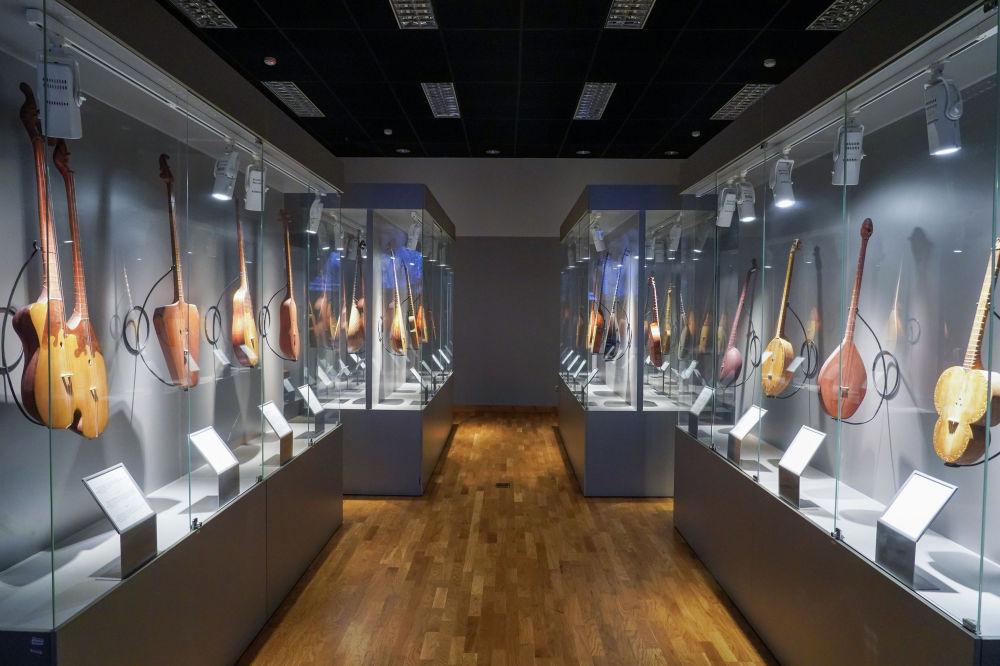 Музейде 9 экспозициялық зал жұмыс істеп тұр