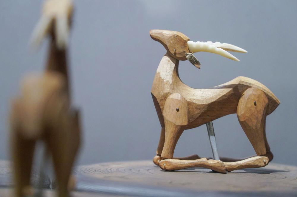 Түркі халықтарының қуыршақ өнерінің қайнар көзі - Ортеке