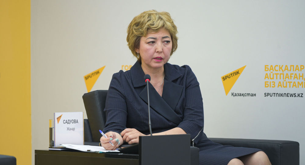 Начальник управления охраны здоровья детей и подростков министерства здравоохранения Жанар Садуова