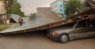 Ураган в Шымкенте