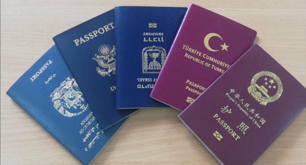 шетелдік паспорт