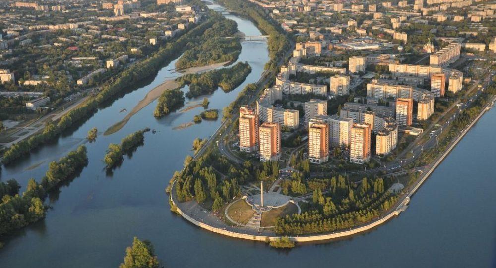 Усть-Каменогорск. Виды города