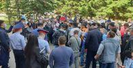 Сотни работников Обуховского ГОК вышли на митинг в Петропавловске