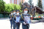 Останки воинов Великой Отечественной войны из Акмолинской области Камена Жуманова и Толеубая Жумабекова доставили в Кокшетау