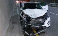 Тройное дорожно-транспортное происшествие на ул. Саина