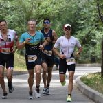 После заплыва и велогонки спортсменам необходимо пробежать 5 километров
