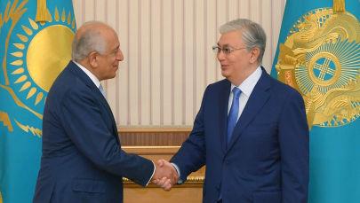 Президент Касым-Жомарт Токаев принял специального представителя США по примирению в Афганистане Залмая Халилзада