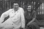 Каныш Сатпаев и его жена Таисия Кошкина