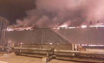 Пожар на газоперерабатывающем заводе