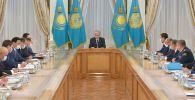 Токаев провел совещание по вопросам выборов сельских акимов