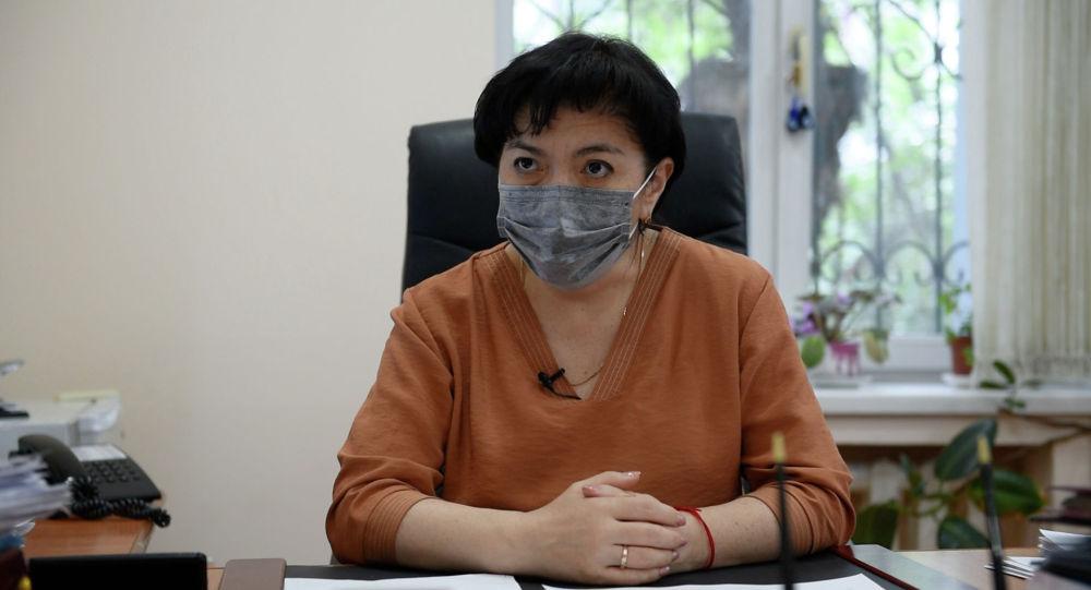 Алматы қаласының бас санитар дәрігерінің эпидемиологиялық бағыт бойынша орынбасары Әсел Қалықова