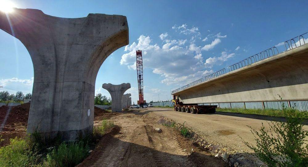 Астана LRT құрылысы қайта жанданды