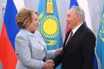 Нурсултан Назарбаев встретился с Валентиной Матвиенко