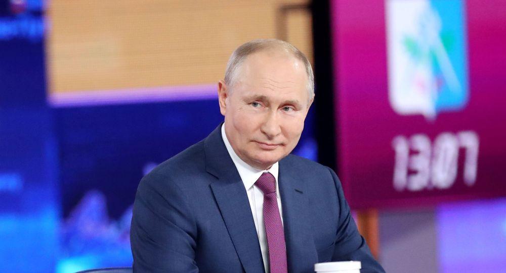 Владимир Путин, РФ президенті