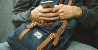 Телефон, соцсети, иллюстративное изображение
