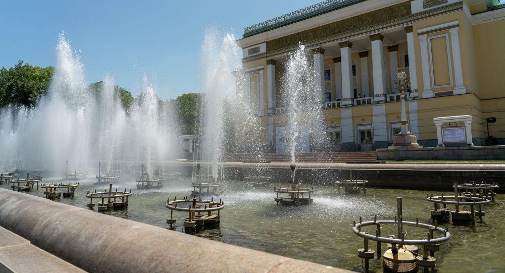 Лето в Алматы