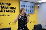Заместитель главного редактора МИА Россия сегодня Наталья Лосева - спикер проекта Sputnik PRO в студии Sputnik Казахстан
