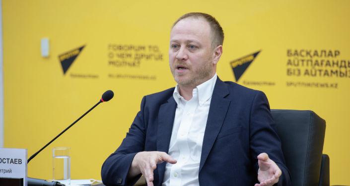 Заместитель главного редактора - директор Главной дирекции информации МИА Россия сегодня Дмитрий Горностаев