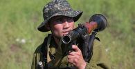 Военнослужащий армии Узбекистана