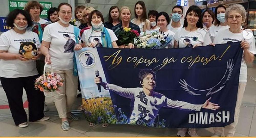 Димаш Кудайберген прилетел в Беларусь