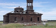 Построенная без единого гвоздя мечеть 1907 года в Восточно-Казахстанской области