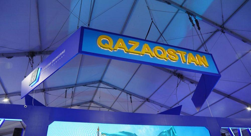 Внутреннее оформление стендов компаний в павильоне Казахстана на МАКС-2021
