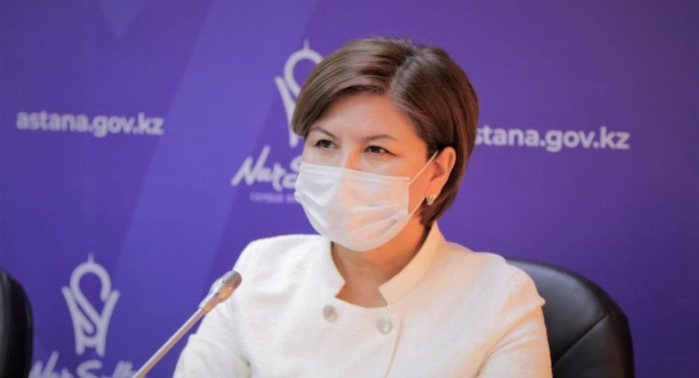 Заместитель главного государственного санитарного врача Нур-Султана Жанна Пралиева