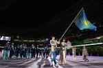 Сборная Казахстана на Олимпийском стадионе в Токио