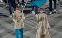 Ольга Рыпакова на церемонии открытия Олимпиады
