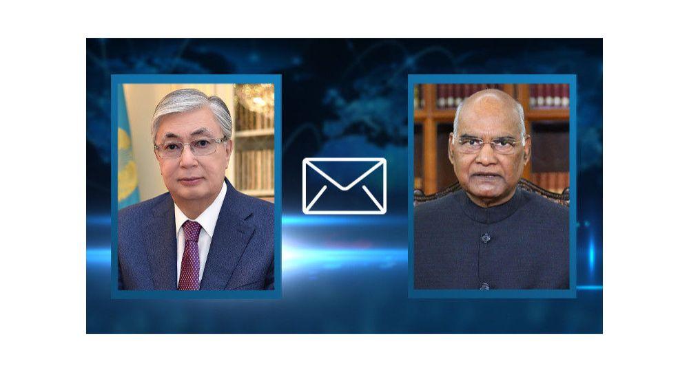 Токаев выразил соболезнования президенту Индии