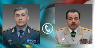 Министры обороны Казахстана и Таджикистана