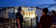 Последствия урагана в Акмолинской области