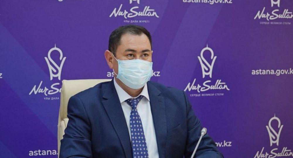 Руководитель городского управления общественного здравоохранения Тимур Муратов  Источник