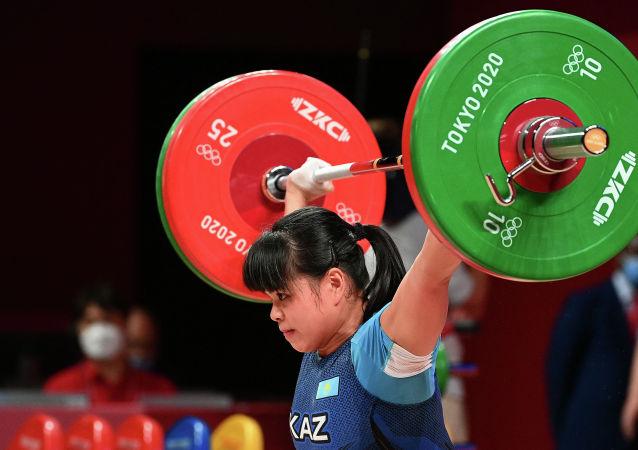 Зульфия Чиншанло завоевала бронзовую медаль на Олимпиаде в Токио