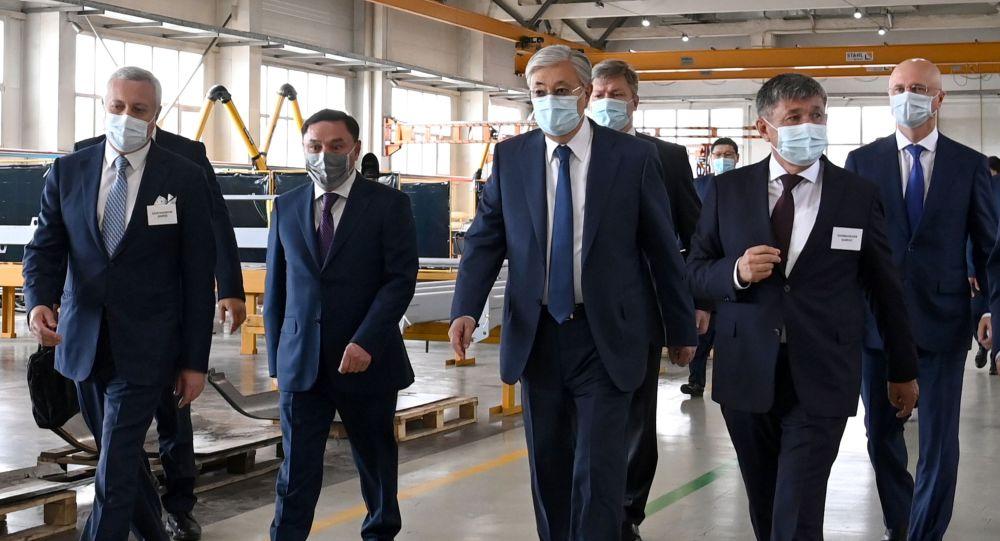 Қасым-Жомарт Тоқаев KazRost Engineering Ltd. компаниясына барды