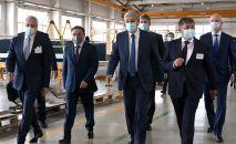Касым-Жомарт Токаев посетил компанию KazRost Engineering Ltd